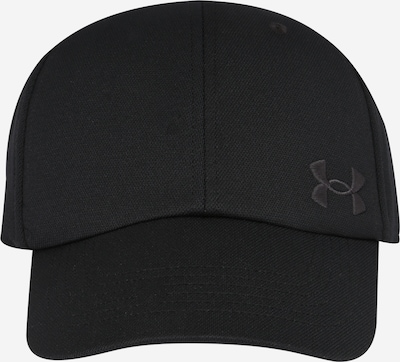 UNDER ARMOUR Sports cap in Black, Item view