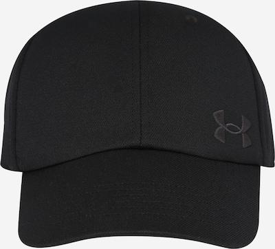 UNDER ARMOUR Casquette de sport en noir, Vue avec produit