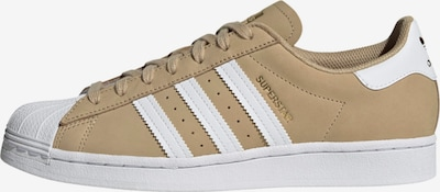 ADIDAS ORIGINALS Sneaker 'Superstar' in beige / weiß, Produktansicht