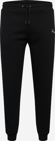 River Island Big & Tall Trousers in black / white, Item view