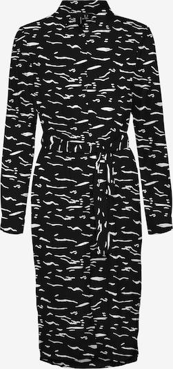 VERO MODA Robe-chemise 'Elita' en noir / blanc, Vue avec produit