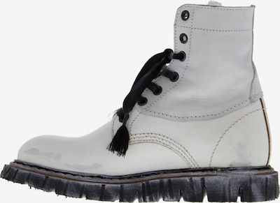 YELLOW CAB Lace-Up Boots 'Oregon' in White, Item view