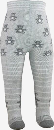 ROGO Tights 'Teddy' in Light grey / White, Item view