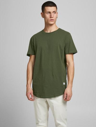 JACK & JONES Shirt 'Enoa' in navy / dunkelgrün / schwarz / weiß: Frontalansicht