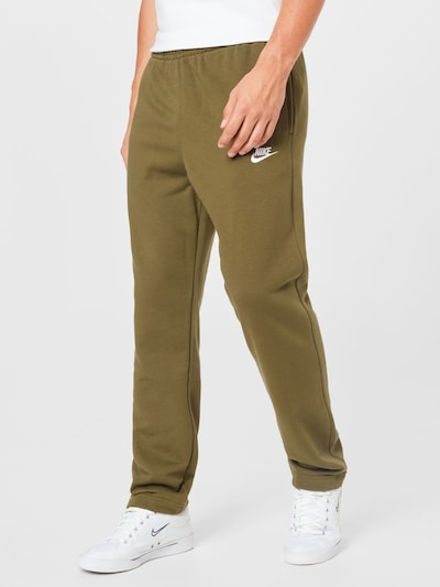 Pantaloni Nike Sportswear pe oliv, Vizualizare model