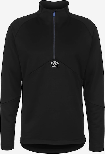 UMBRO Trainingssweatshirt in schwarz, Produktansicht