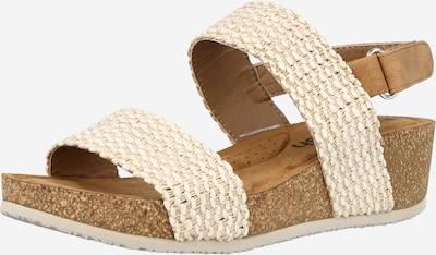 Sandale Refresh pe bej, Vizualizare produs