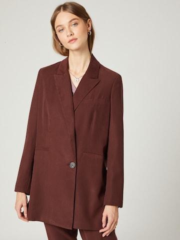 Guido Maria Kretschmer Collection Blazer 'Lydia' in Brown