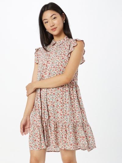 Hailys Kleid 'Elisa' in grün / rot / offwhite, Modelansicht