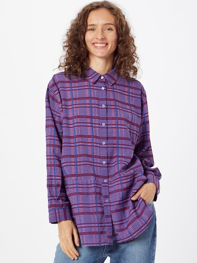 FRENCH CONNECTION Bluse 'GWEN' in blau / lila, Modelansicht