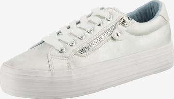 JANE KLAIN Sneakers in Silver
