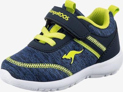 KangaROOS Sneaker 'Chummy' in navy / neongrün, Produktansicht