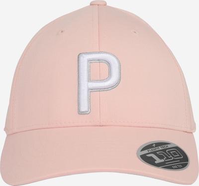 rózsaszín / fehér PUMA Sport sapkák 'Adj', Termék nézet