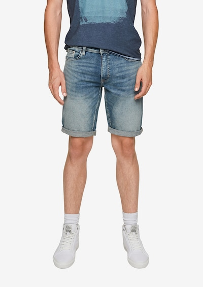 Q/S designed by Shorts in blue denim, Modelansicht