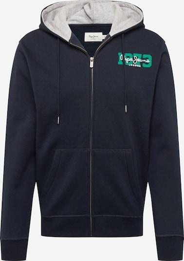 Pepe Jeans Суичъри с качулка 'HERMAN' в тъмносиньо / зелено / бяло, Преглед на продукта