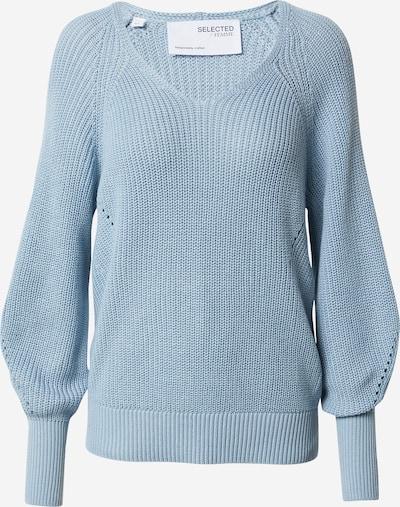 SELECTED FEMME Pullover in hellblau, Produktansicht