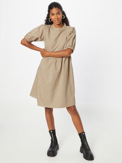 Love Copenhagen Kleid 'Ulla' in braun / cappuccino / schwarz, Modelansicht