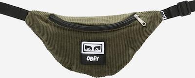 Obey Heuptas in de kleur Olijfgroen / Zwart / Wit, Productweergave
