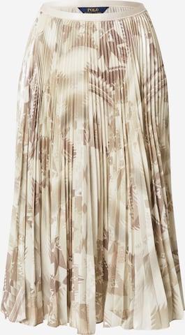 Polo Ralph Lauren Skirt 'RESE' in Beige