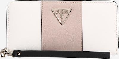 GUESS Geldbörse 'Noelle' in puder / weiß, Produktansicht