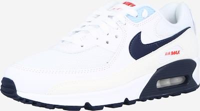 tengerészkék / fehér Nike Sportswear Rövid szárú edzőcipők 'AIR MAX 90', Termék nézet