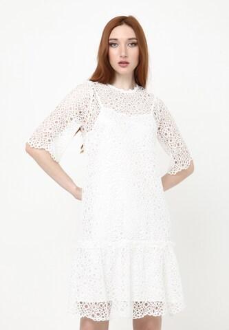 Madam-T Summer Dress 'Fikera' in White