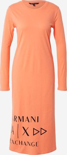 ARMANI EXCHANGE Kleid in orange / schwarz, Produktansicht