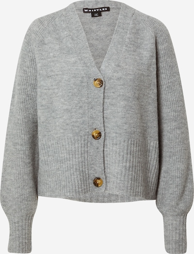 Whistles Knit cardigan in grey, Item view