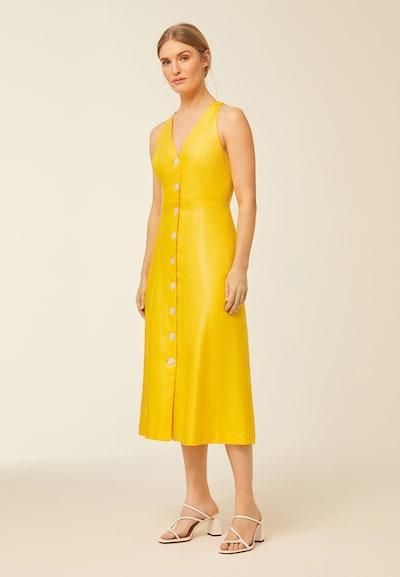 IVY & OAK Haljina u žuta, Prikaz modela