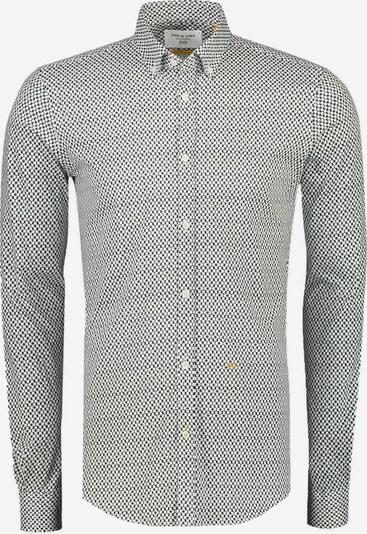 NEW IN TOWN Overhemd in de kleur Nachtblauw / Wit, Productweergave