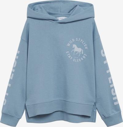 MANGO KIDS Sweatshirt 'Elegant' in rauchblau / opal, Produktansicht