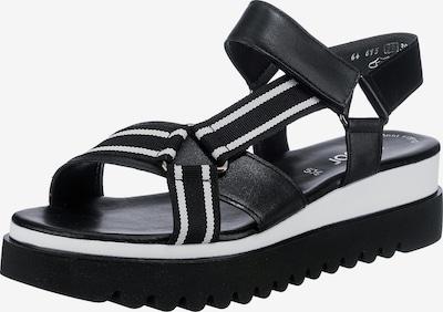 GABOR Sandalette in schwarz / weiß, Produktansicht