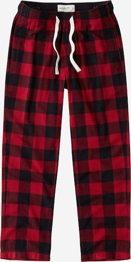 Abercrombie & Fitch Pyjamasbukser i rød / sort, Produktvisning