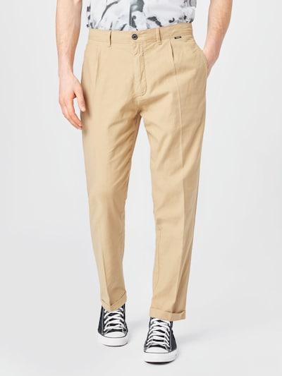 Calvin Klein Pantalon à pince en sable, Vue avec modèle