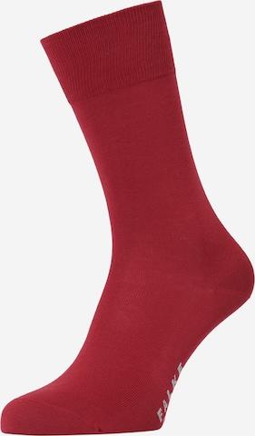 Șosete de la FALKE pe roșu