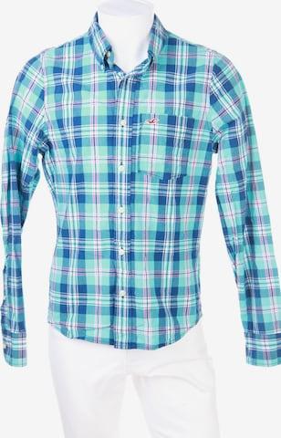 HOLLISTER Button-down-Hemd in L in Blau