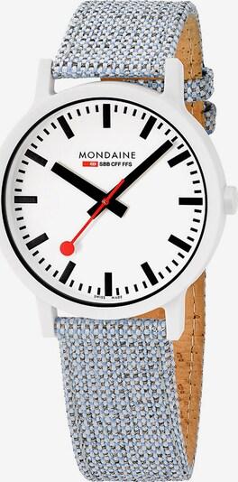 Mondaine Damen-Uhren Analog Quarz ' ' in hellblau, Produktansicht