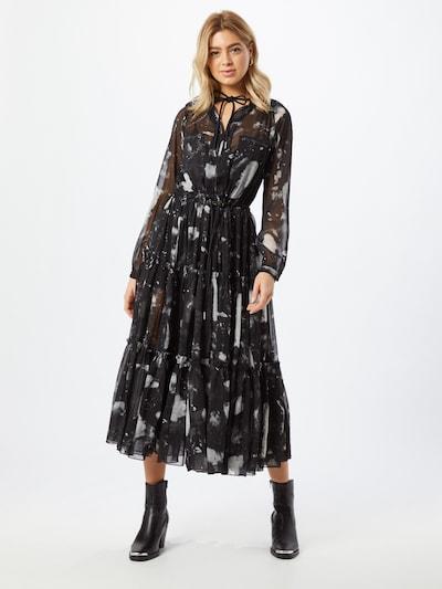 Rochie 'D-HINES' DIESEL pe negru / alb, Vizualizare model