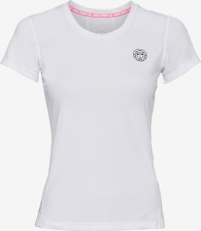 BIDI BADU T-Shirt Calla Tech mit dezentem Logo-Motiv in weiß, Produktansicht