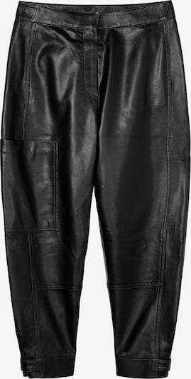 Marc O'Polo Pure Lederhose in schwarz, Produktansicht