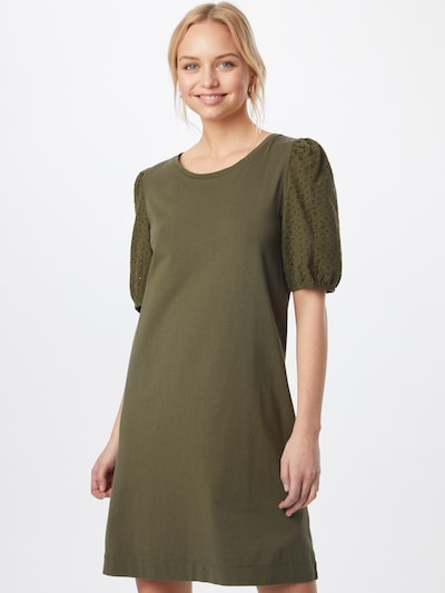 EDC BY ESPRIT Kleid in khaki, Modelansicht