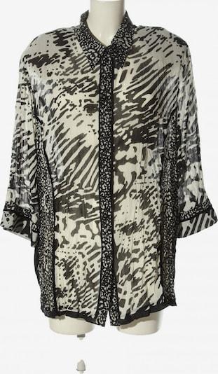 Gelco Transparenz-Bluse in 5XL in schwarz / weiß, Produktansicht