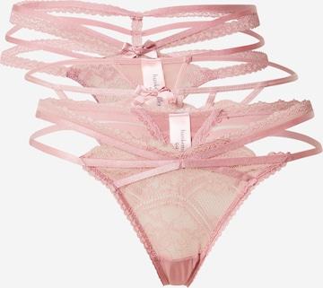 Hunkemöller Στρινγκ 'Lorraine' σε ροζ