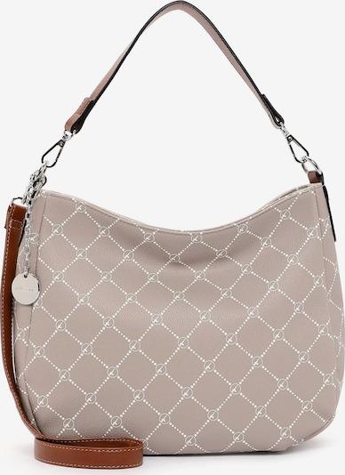 TAMARIS Tasche 'Anastasia Classic' in cappuccino / weiß, Produktansicht