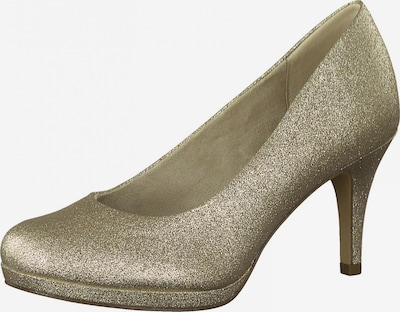 TAMARIS Pumps in de kleur Goud, Productweergave