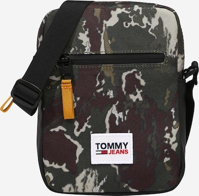 Tommy Jeans Bolso de hombro en azul castaño / gris claro / verde / caqui, Vista del producto