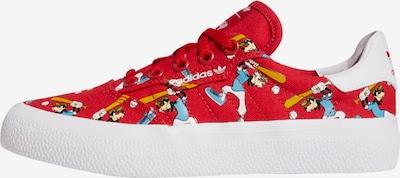 ADIDAS ORIGINALS Sneaker '3MC x Disney Sport Goofy' in blau / orange / rot / weiß, Produktansicht