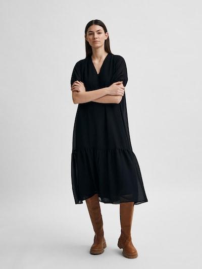 SELECTED FEMME Summer Dress 'SINA' in Black, View model