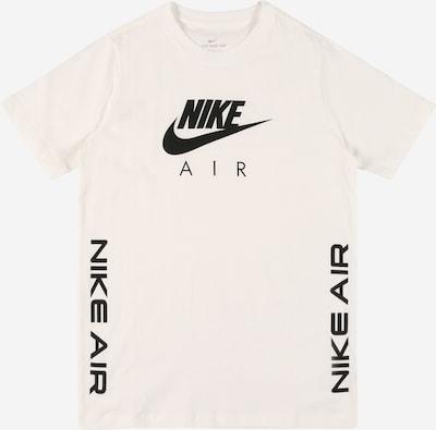 Nike Sportswear Camiseta en negro / blanco, Vista del producto