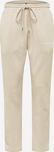 Worst Behavior Панталон 'COLIS' в пудра / бяло, Преглед на продукта